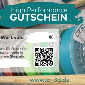 CR-3D Gutschein