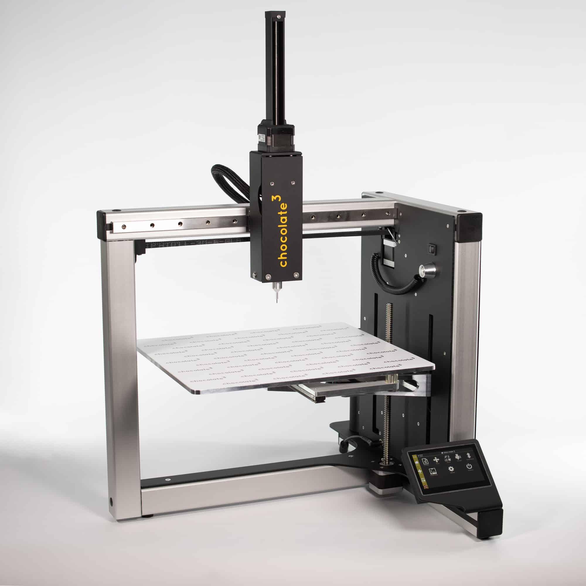 CR-3D | Entwicklung eines Schokoladen 3D-Druckers zusammen mit chocolate³ aus München